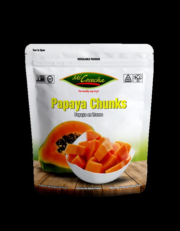 Mi Cosecha Papaya en Trozos