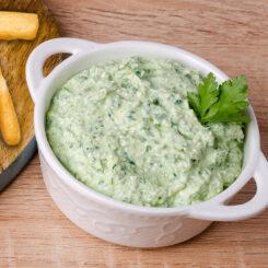 Coriander, Garlic and Yogurt Dip